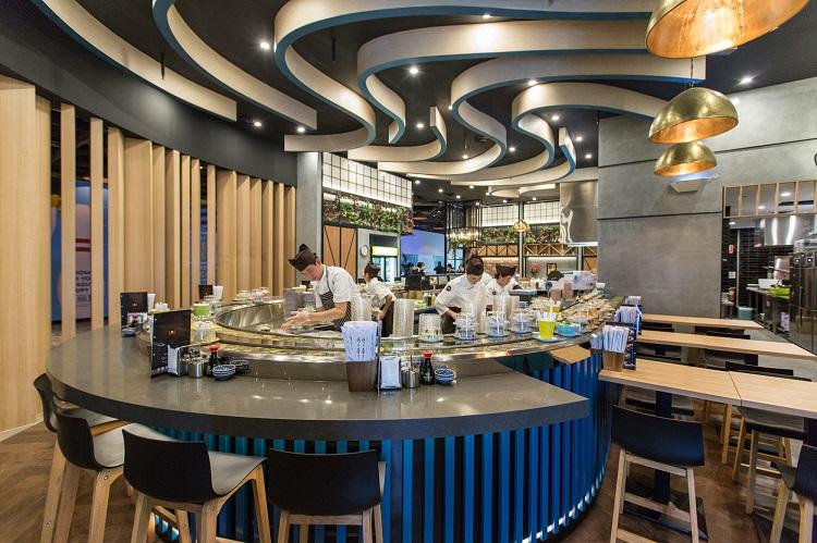 Retail Sydney vBuilt Constructions Restaurant